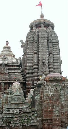 Lingaraj temple, art Kalinga architecture in Bhubaneswar, India