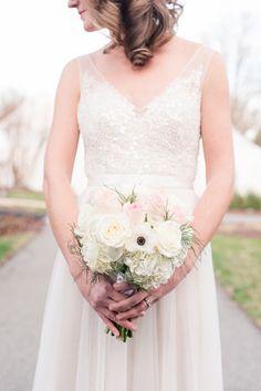 Intimate Blush Wedding at the Burke Manor Inn • Bummed Bride
