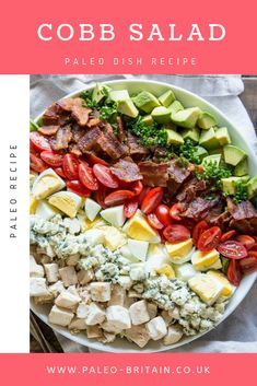 Cobb Salad  #Paleo #recipe #food