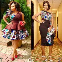 Gorgeous Ankara Styles Just For You - Eazy Vibe Latest Ankara Dresses, Ankara Dress Styles, Latest African Fashion Dresses, African Dresses For Women, African Print Dresses, African Print Fashion, Africa Fashion, African Attire, African Wear