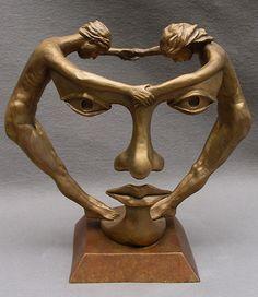 Michael Alfano – Figurative and surrealistic sculpture – Tutt'Art@