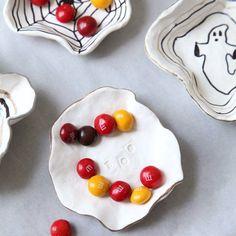 Easy + Festive DIY Halloween Candy Dishes