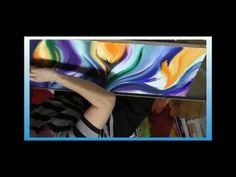 """Anastasia Tversky - Abstract Painting DEMO - Oil - """"Reach out to the Sun"""" Mixed Media Art, Anastasia, Behind The Scenes, Modern Art, Abstract Art, Oil, Fine Art, The Originals, Painting"""