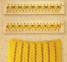 Create with threads ...: More stitches for Aztec loom