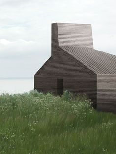 Petersen Tegl Hus, Studio and home. Nicolai Bo Andersen with Harlang + Stephensen Architects Minimalist Architecture, Facade Architecture, Contemporary Architecture, Ancient Architecture, Sustainable Architecture, Landscape Architecture, Exterior Design, Interior And Exterior, Beautiful Buildings