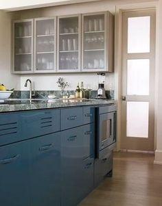 [I♥BULE]ブルーがポイントのインテリア[キッチン編] - NAVER まとめ