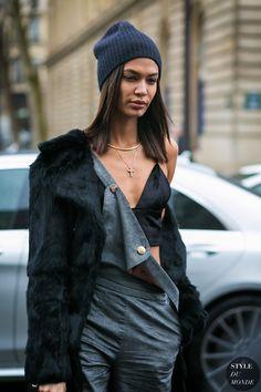 Joan Smalls by STYLEDUMONDE Street Style Fashion Photography