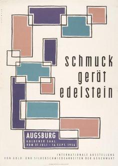 'schmuck gerät edelstein', 1956