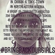 1000+ images about BRING BACK OUR GIRLS NIGERIA! on ...