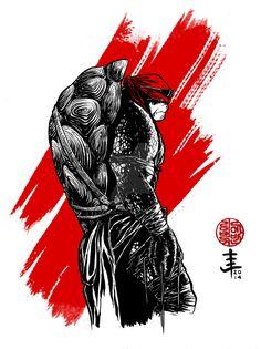 Raphael - by EvanLimberger Tenage Mutant Ninja Turtles, Ninja Turtles Art, Teenage Mutant Ninja, Tmnt Girls, Fantasy Female Warrior, Dc Comics, Dope Cartoon Art, Marvel Art, Film