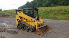 2010 Caterpillar 257B2 Compact Track Skid Loader Diesel Engine Construction