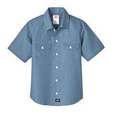 Dickies Short sleeve Chambray shirt