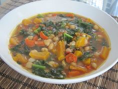 Kale and Vegetable Soup Recipe