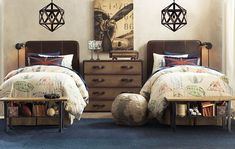 LOVE this boys' room. Love.It.