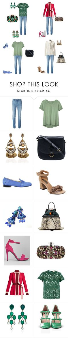 """Варианты со светлыми джинсами"" by zalina-261290 on Polyvore featuring мода, Givenchy, Gap, Louis Vuitton, Luca Valentini, Lazuli, Kenzo, New Look, Marchesa и Erika Cavallini Semi-Couture"