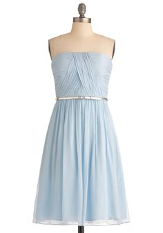Pale blue dress vintage