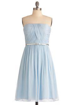 $177 Time of My Life Dress in Light Blue | Mod Retro Vintage Dresses | ModCloth.com