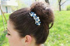 Haarkamm Etwas Blaues Accessories, Fashion, Head To Toe, Bridesmaids, Blue, Wedding, Schmuck, Moda, Fashion Styles