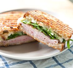 Recipe: Ham, Brie, Marmalade and Arugula Pressed Sandwich Recipes from The Kitchn