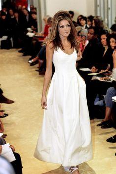 Prada Spring 1992 Ready-to-Wear Fashion Show - Carla Bruni
