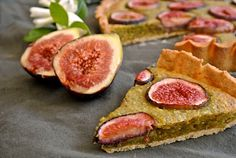 Fig and Pistachio Frangipane Tart Pie Co, Fig Tart, Frangipane Tart, Tart Shells, Food L, Rhubarb Recipes, Fabulous Foods, Just Desserts, Delicious Desserts