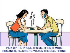 This comic scene shows you that being social is really important.