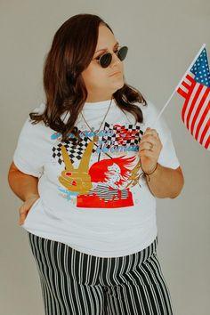 American Woman Tee - 2X