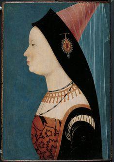 ▪Mary of Burgundy. Artist: Master H.A. or A.H. (Austrian, Tirol (?), active late 1520's) Date: 1528 Medium: Oil on fir panel