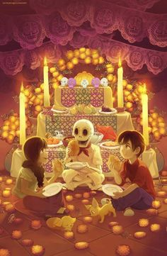 Want to discover art related to muertos? Check out inspiring examples of muertos artwork on DeviantArt, and get inspired by our community of talented artists. Hetalia, Mexico Art, O Gas, Daddy, Anime, Book Of Life, Day Of The Dead, Fantasy Art, Book Art
