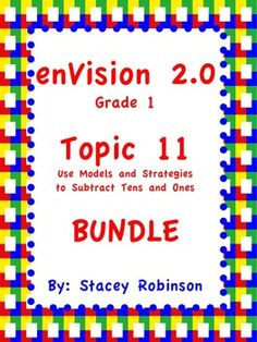 "Everything you need to teach Topic 11. Editable lesson plan, ""I cans,"" practice pages, task cards, and Activinspire flipchart are included."