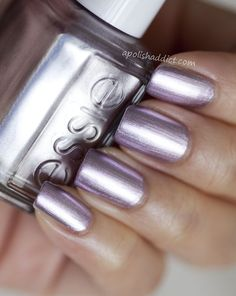 Essie. I don't Know What Color this is, but it reminds me of some Galactic Silver Color