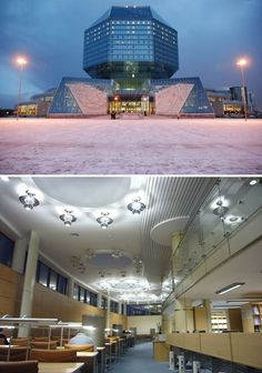 The 25 Most Beautiful Public Libraries in the World National Library, Belarus