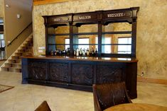 Ranch Rack Custom Design Old West Saloon Bar, San Antonio, Texas Showcase Cabinet, Old West Saloon, Texas Homes, San Antonio, Liquor Cabinet, Ranch, Custom Design, Bar, House