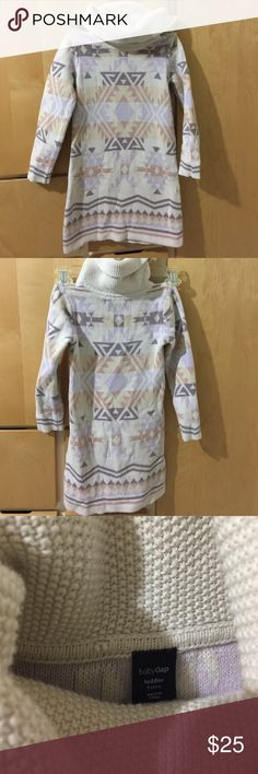 Girl sweater dress In great condition GAP Dresses Casual