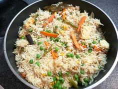 Beautiful and Tasty Mix Vegetable Pulao