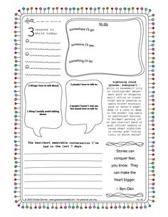 Planner & Journaling Printables ❤ 43 super cute free journal pages :) Daily Journal Prompts, Journal Pages, Journal Ideas, Blank Journal, Journal Inspiration, Counseling Activities, School Counseling, Group Activities, Smash Book
