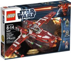 LEGO Star Wars Republic Striker Class Starfighter -- More info could be found at the image url.