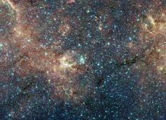 Fototapete NASApete, Sternenansammlung, Starcluster, Galaxie, Weltraum…