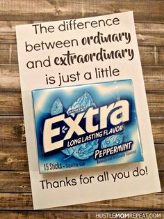 Easy FREE Teacher Appreciation Printable For Gum Employee apprecia. - Easy FREE Teacher Appreciation Printable For Gum Employee appreciation - Volunteer Appreciation Gifts, Volunteer Gifts, Teacher Appreciation Week, Employee Appreciation Quotes, Gifts For Volunteers, Pastor Appreciation Ideas, Volunteer Ideas, Appreciation Message, Customer Appreciation