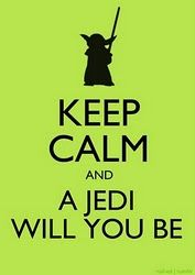 Previous Pinner: Yoda ME: These posters are annoying BUT this has redeemed their annoyance!! Gotta love it!