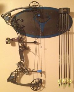 Mathews Bow Holder www.hd-products.com Hunting Stuff, Hunting Gear, Hunting Dogs, Mathews Bows, Man Cave Essentials, Bow Rack, Bow Display, Bow Hunter, Archery Bows