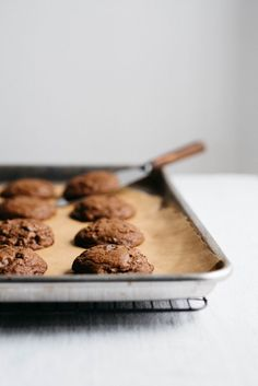 double chocolate gingersnaps (gf + df)