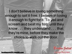 Broken Juliet (Starcrossed, #2) by Leisa Rayven
