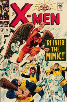 Cover for The X-Men (Marvel, 1963 series) #27