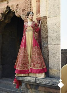 Pink Banglori Silk Long Length Salwar Suit  #kameez #anarkali salwar #anarkali salwar kameez