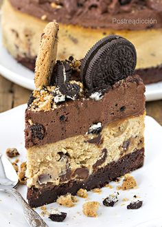 cheesecake Oreos Milk Bar Cake, Cake Recipes, Dessert Recipes, Fat Foods, Cute Cakes, Sweet Desserts, Creative Food, Yummy Food, Sweets