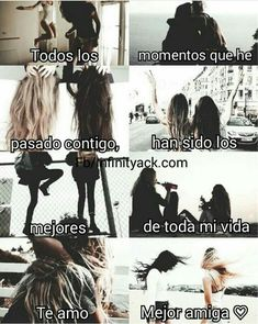 Sad :v but no tengo mejor amiga. Me traicionó Friends Tumblr Quotes, Besties Quotes, Bffs, Ft Tumblr, Tumblr Love, Bff Girls, Sisters Forever, Love Phrases, Best Friend Goals