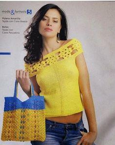 Crochet blouse patterns
