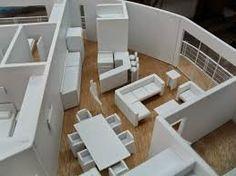 Resultado de imagen para muebles en escala 1:20 para maquetas