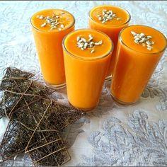 #smoothie #carrot #apple #banana #dates #coconutoil #lemonjuice #mineralwater #sunflowerseeds #recipe #ontheblog #cookair #cookairblog #foodblogger #myfuel #healthy #vegan #dairyfree #lactosefree #sugarfree #glutenfree #drinkoftheday #makecookingeasier #picoftheday #vscocam #vscogood #vscopoland #raw #koktajl #batido